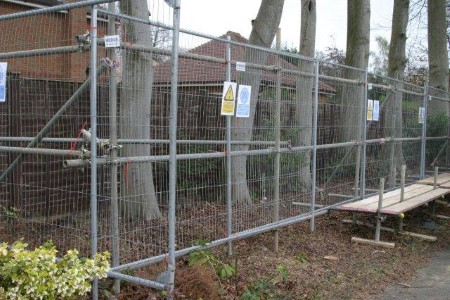 tree protection fencing company